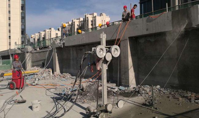 Dịch vụ khoan cắt bê tông quận 3 của công ty Hùng Vỹ.