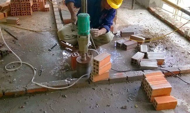Công ty khoan cắt bê tông Hùng Vỹ giá rẻ uy tín