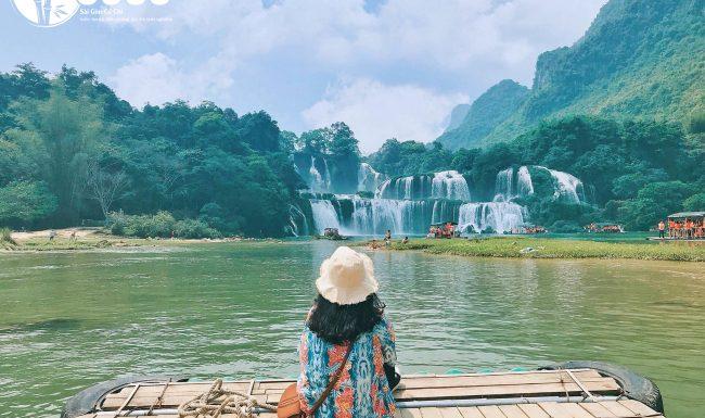 Cảnh đẹp cứ ngỡ như Hàn Quốc khi du xuân đến Cao Bằng