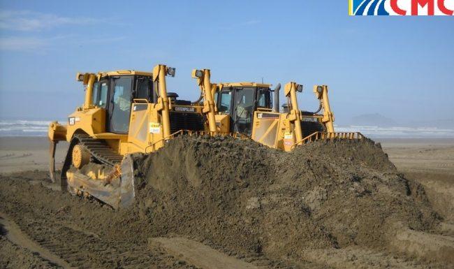 Sài Gòn CMC hoạt động trong lĩnh vực phân phối cát san lấp xây dựng