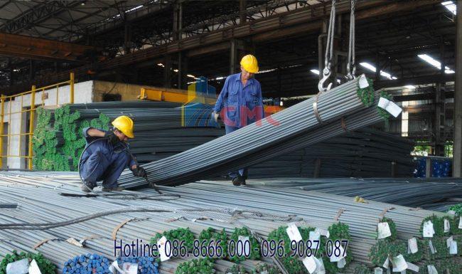 Sài Gòn CMC có sản lượng sản xuất và tiêu thụ sắt thép lớn nhất trong nước tại Việt Nam