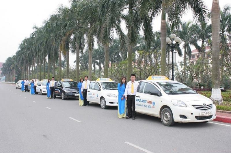Hãng taxi Sao Mai